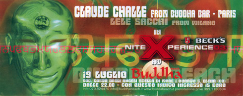 Claude Challe - Beck's Nite Xperience